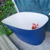patented design of solid surface bathtub