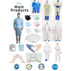 Surgical face mask,PP/CPE/PE shoe cover, nonwoven caps, paper caps, surgical gown, lab coat,glove,510k