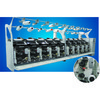 KC215B Electronic Yarn Guide Air Covering Machine