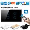 Tuya Smart Home Light Switch WiFi/Zigbee Touch Wall Switch Alexa Voice Control Switch