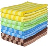 AS40304566 microfiber weft-knitted color chess towel