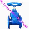Russian standard PN16 2'' inch flange type cast steel flange gate valve PN16 DN80