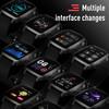 Smart watch bracelet automatic measure SPO2 HR and temperature