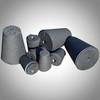 graphite block and graphite powder