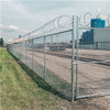 Chain Link Fence    Green Chain Link Fencing     Metal Palisade Fencing     stainless steel woven mesh