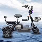 H-11-3 Light Domestic Electric Tricycles with Reversing Function       Adult Electric Tricycle For Sale