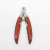 wooden straight toe nail clippers dog nail cutter clippers nail clipper with case