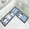 Cute Design 3D Printed Carpets Anti Slip Rugs for Kitchen
